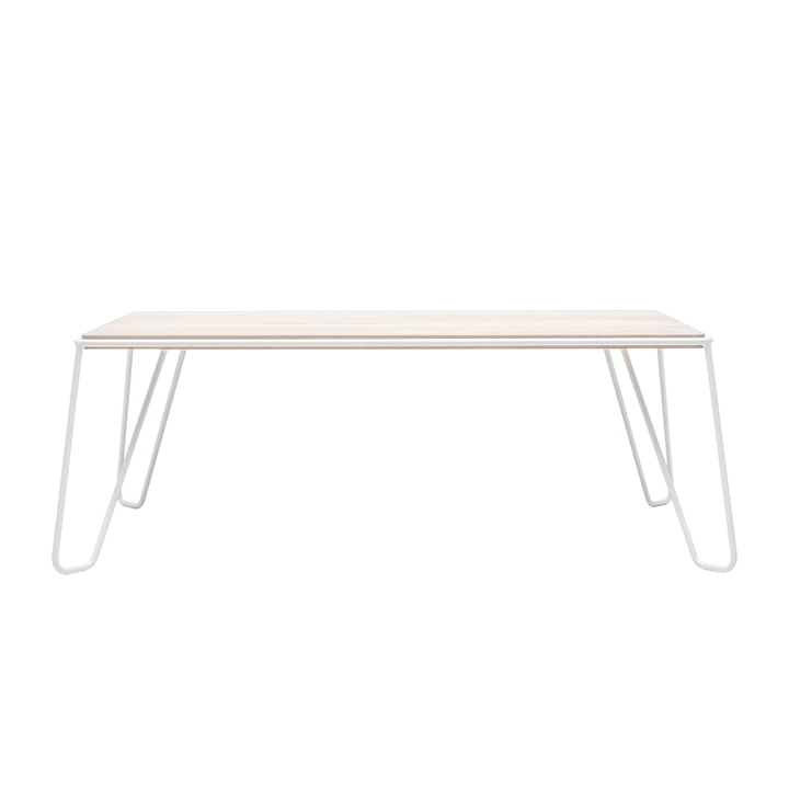 Yilmaz coffee table from Objekte unserer Tage in ash / white