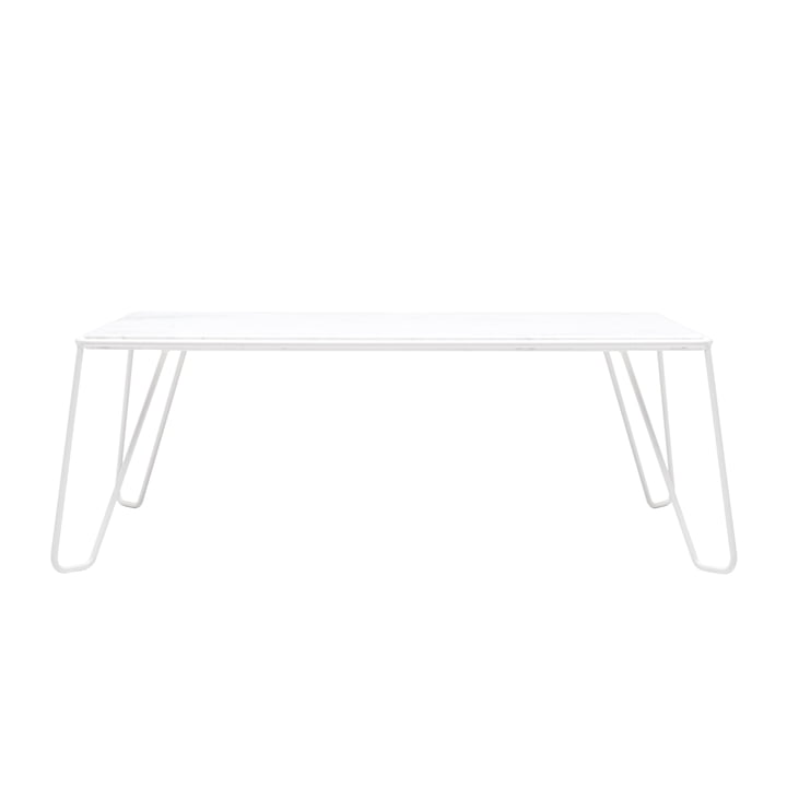 Yilmaz Coffee table from Objekte unserer Tage in marble / white