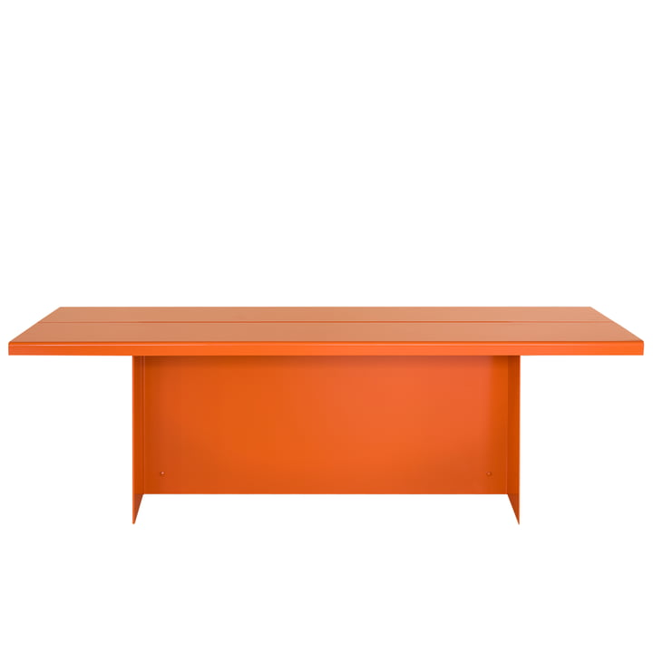 Zebe Bench from Objekte unserer Tage in pure orange