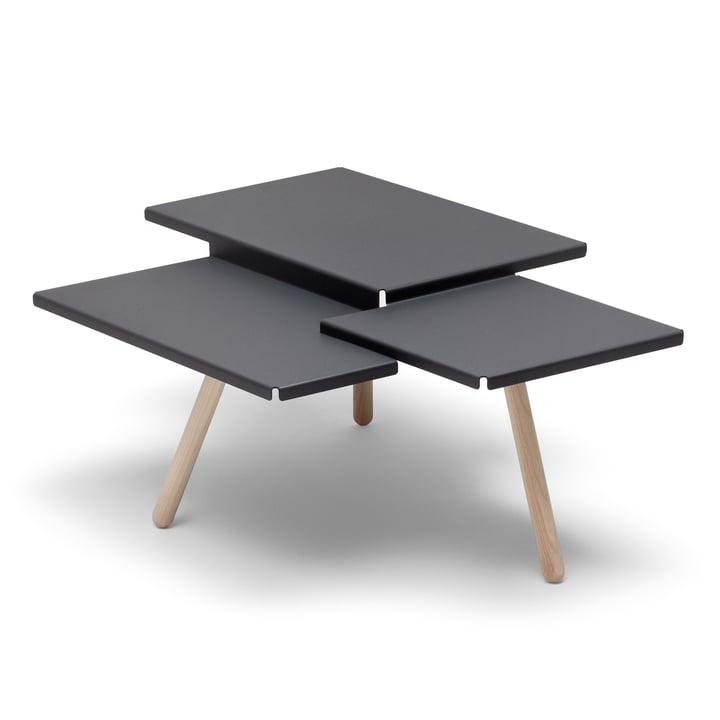 Tablefields Side table from Frederik Roijé in dark grey