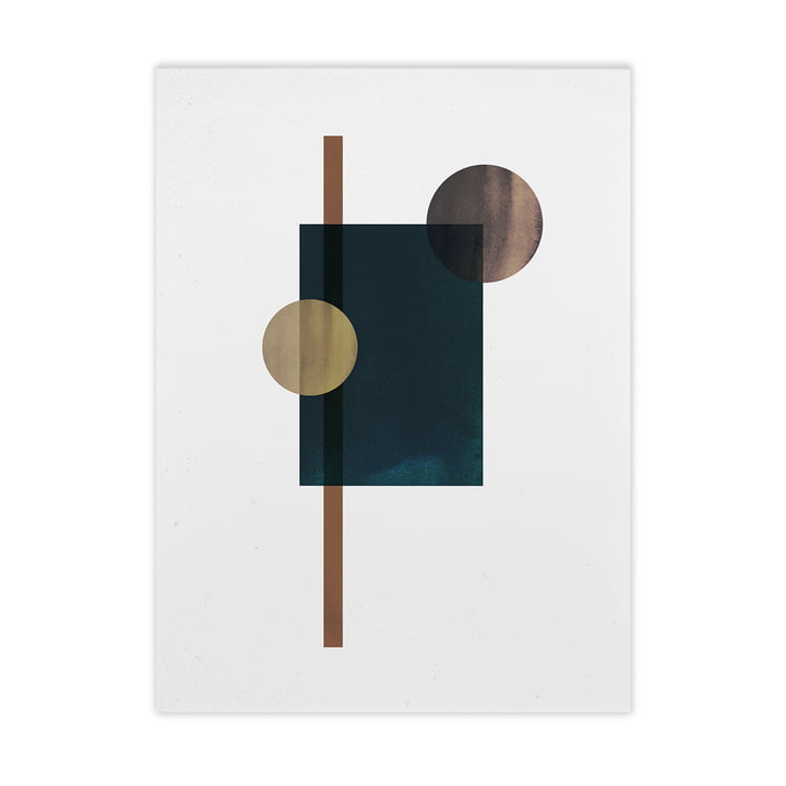 Shapes of Colour 04 from Paper Collective , 50 x 70 cm