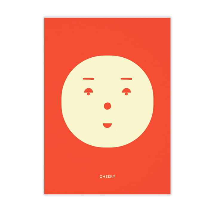 Cheeky Feeling from Paper Collective , 50 x 70 cm