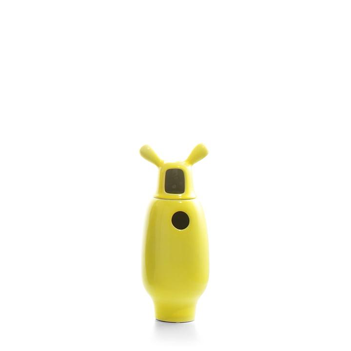 Showtime Vase, Nº 2 from BD Barcelona inside white / outside yellow