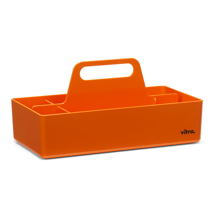 Storage Toolbox from Vitra in mandarine