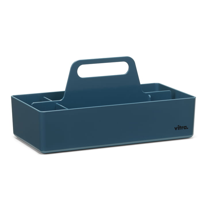 Storage Toolbox from Vitra in sea blue