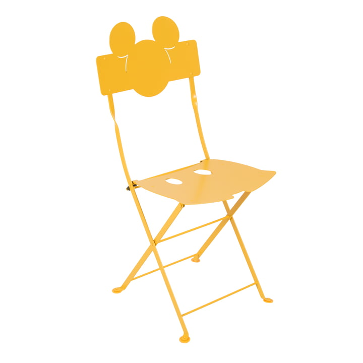 Mickey Mouse Bistro Chair by Fermob in honey