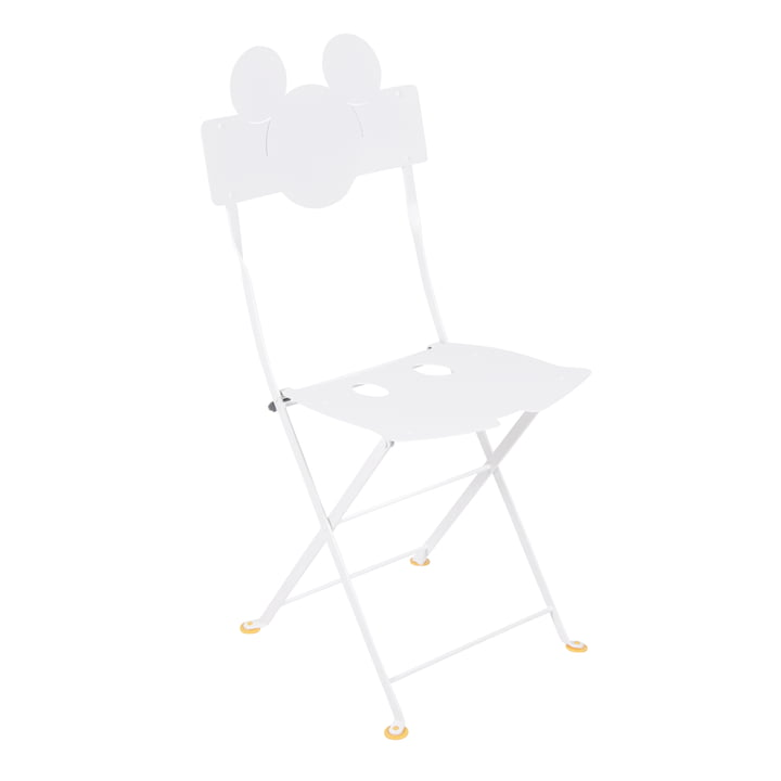 Mickey Mouse Bistro Chair by Fermob in cotton white