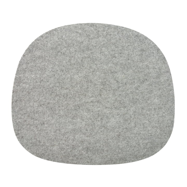 Felt seat cushion for Vitra chairs in grey from the Connox Collection