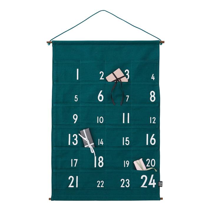 Design Letters - 24 Day Advent Calendar, green