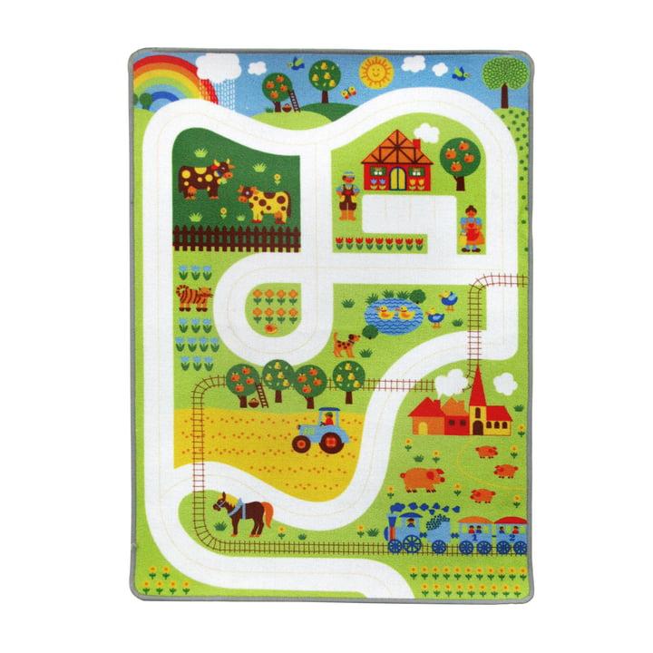 Play rug farm 90 x 130 cm from byGraziela