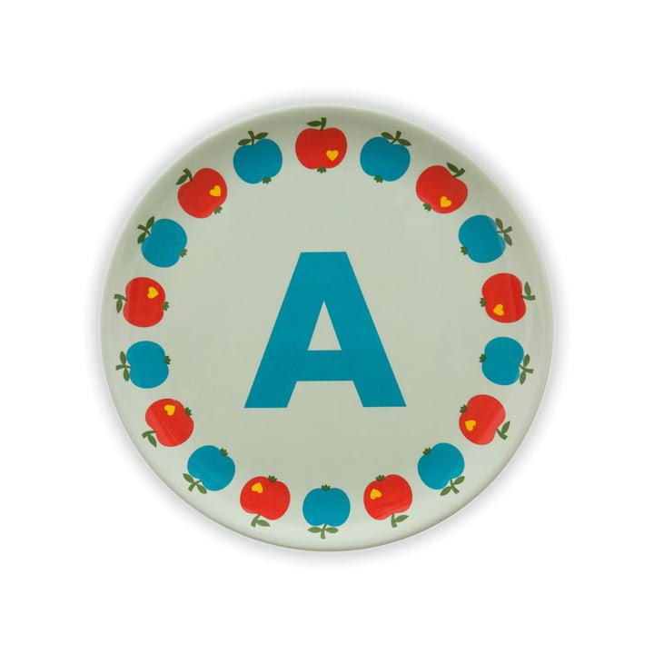 ABC melamine plate A from byGraziela
