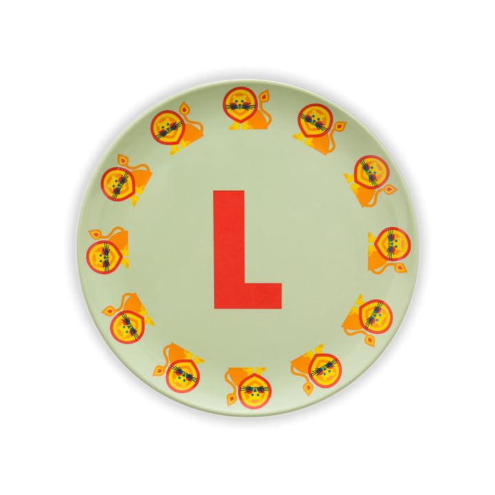 ABC melamine plate L from byGraziela