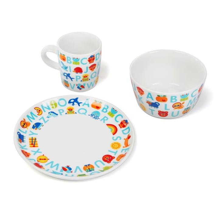 Children's tableware ABC (3 pcs.) by byGraziela