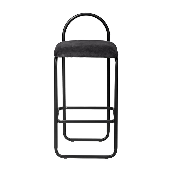 Angui bar stool H 82,5 cm in anthracite from AYTM