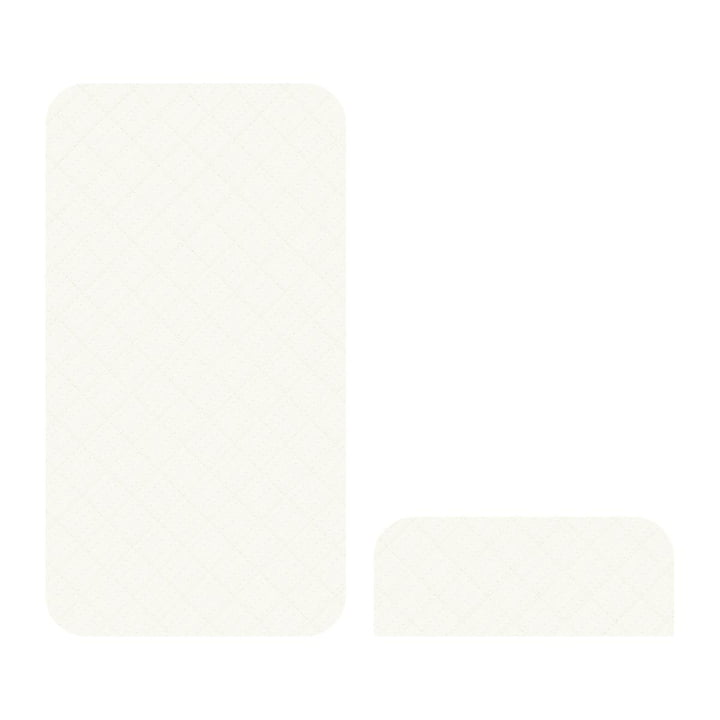 Mattress for the Junior & Grow from Sebra in cream white
