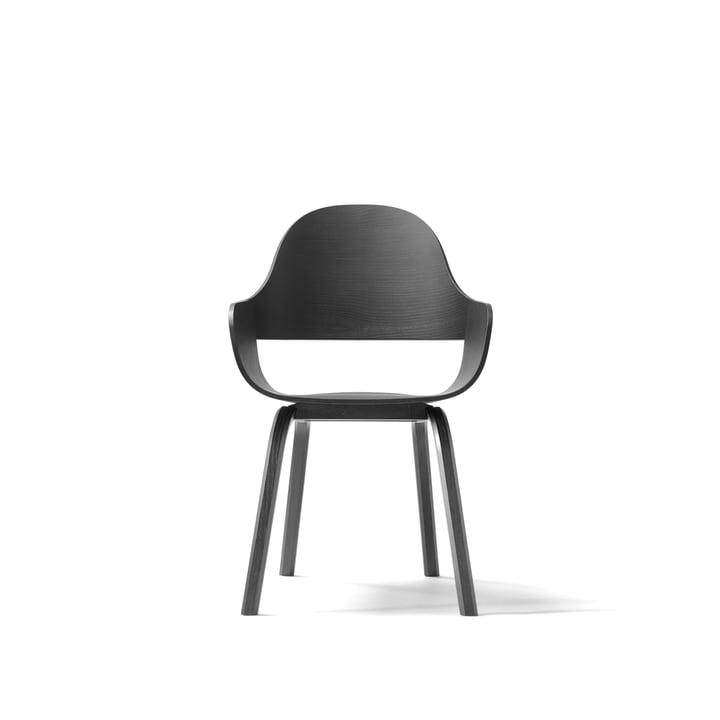 Showtime Nude Chair by BD Barcelona in black