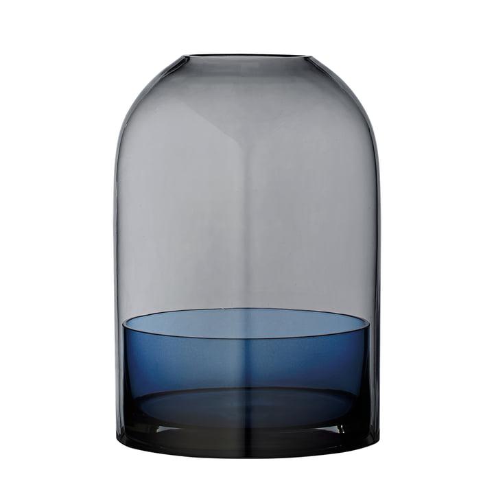 Tota Lantern, Ø 16,2 x H 23 cm in black / navy by AYTM