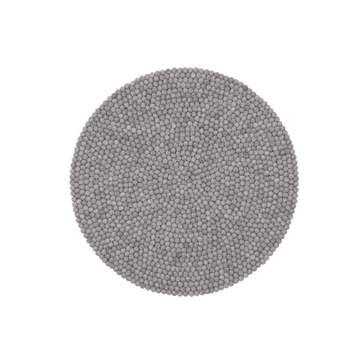 Carl felt ball carpet, Ø 90 cm by myfelt