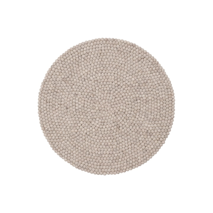 Béla felt ball carpet, Ø 90 cm by myfelt