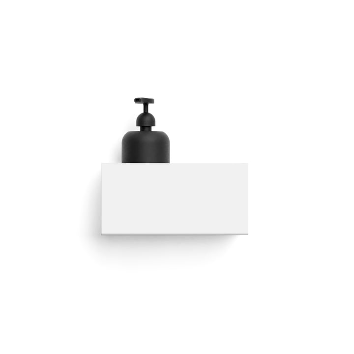 Wall shelf L 20 cm from Nichba Design in white