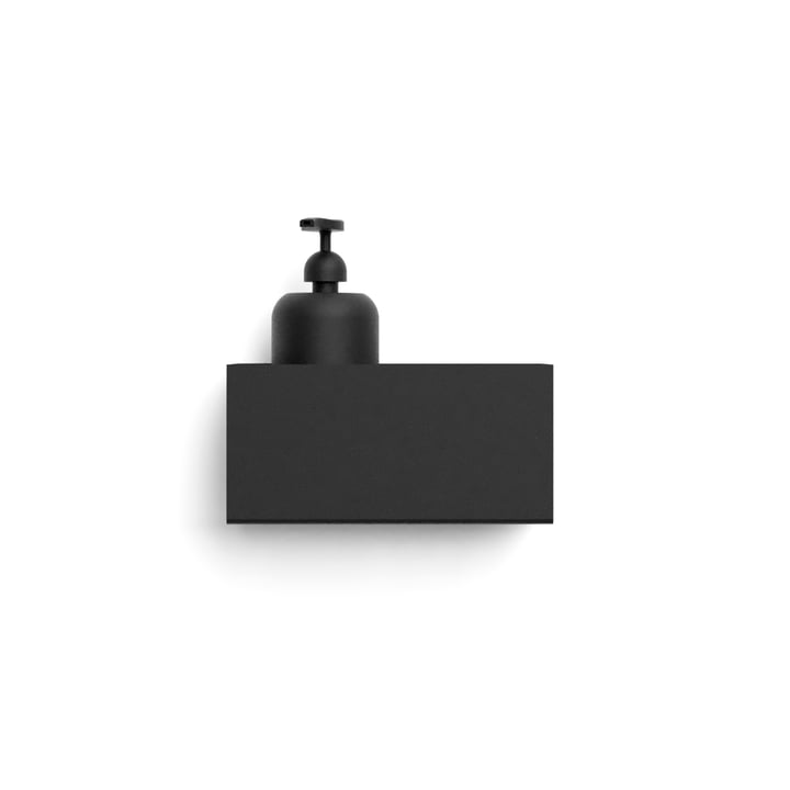 Nichba Design - Wall shelf, L 20 cm / black