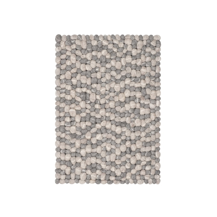 Ernie felt ball carpet by myfelt, 70 x 100 cm