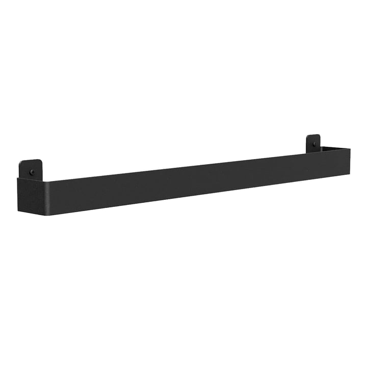 Towel holder from Nichba Design in black