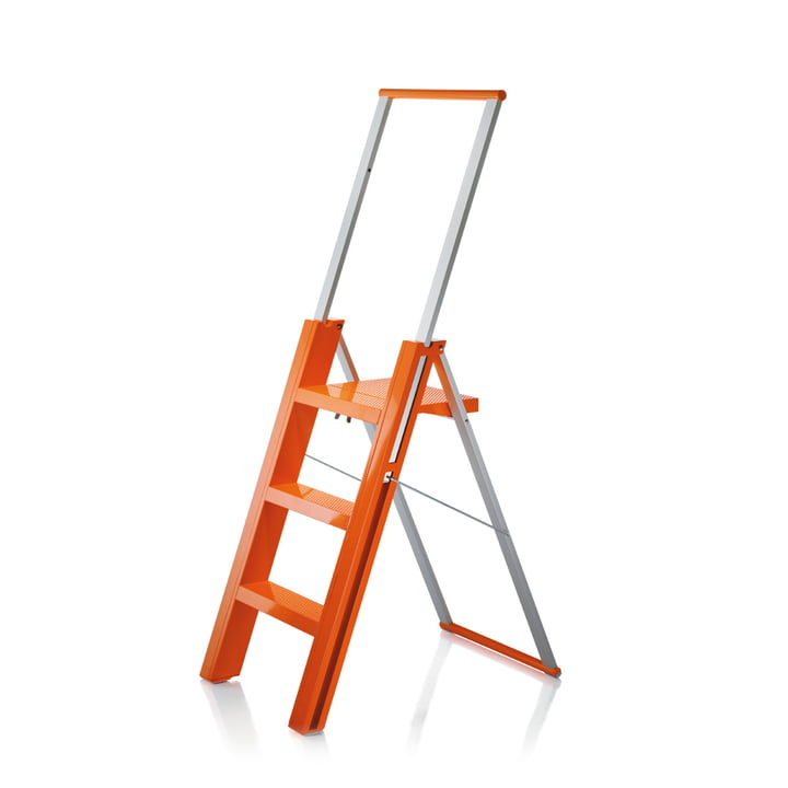 Flò folding ladder from Magis in orange