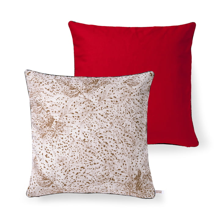 Dots cushion by Petite Friture, 50 x 50 cm in copper