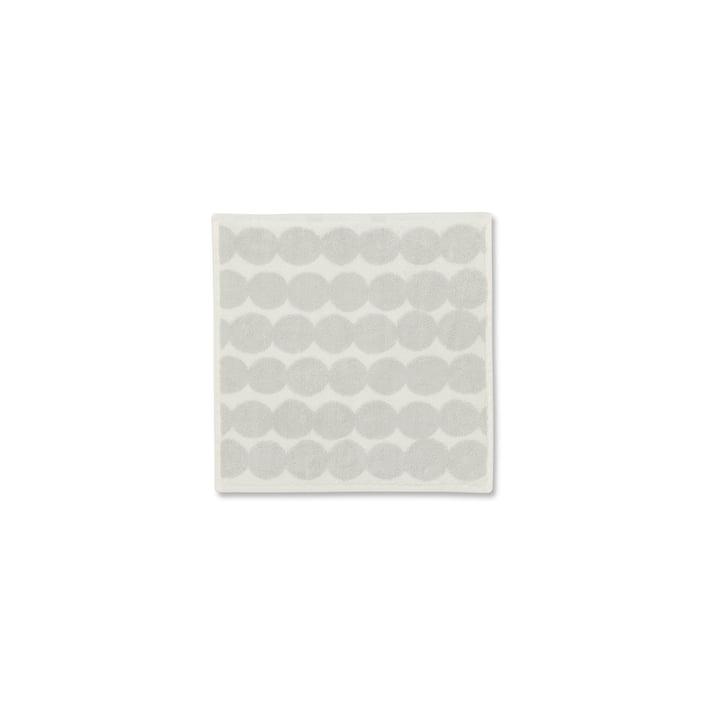 Räsymatto mini towel 30 x 30 cm from Marimekko in white / beige