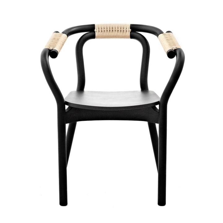Knot Chair by Normann Copenhagen in black / natural