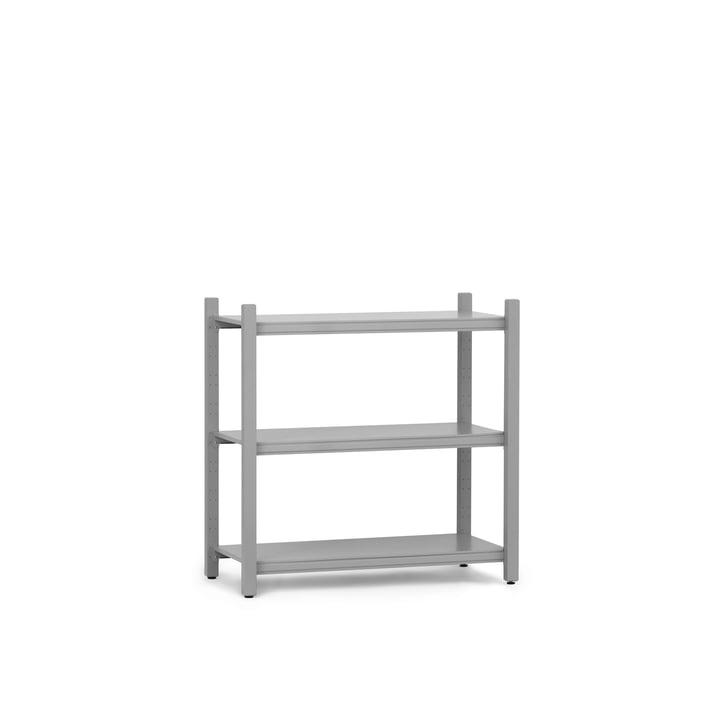 Work bookshelf low main module of Normann Copenhagen in grey