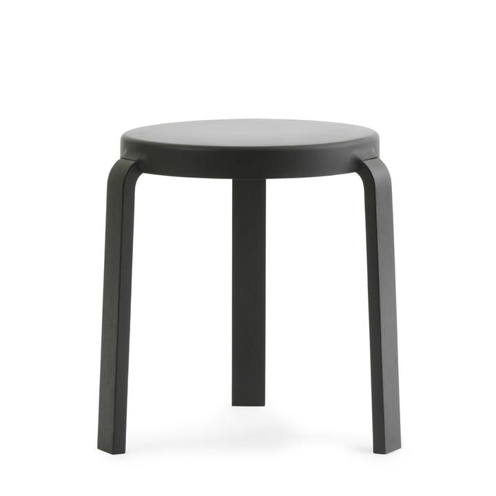 Tap stool by Normann Copenhagen in black / black