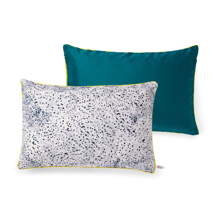 Dots cushion by Petite Friture, 60 x 40 cm in black