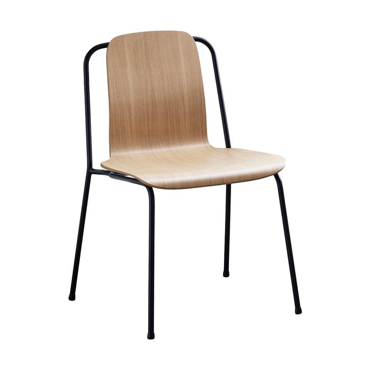 Studio Chair by Normann Copenhagen in black / oak