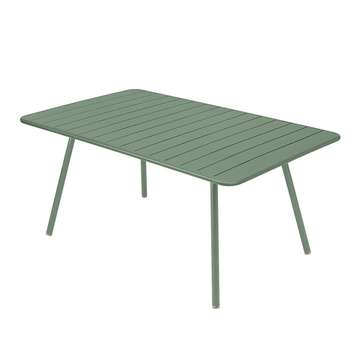 Luxembourg Table rectangular 165 x 100 cm from Fermob in cactus