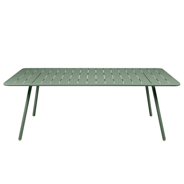 Luxembourg Table rectangular 100 x 207 cm from Fermob in cactus
