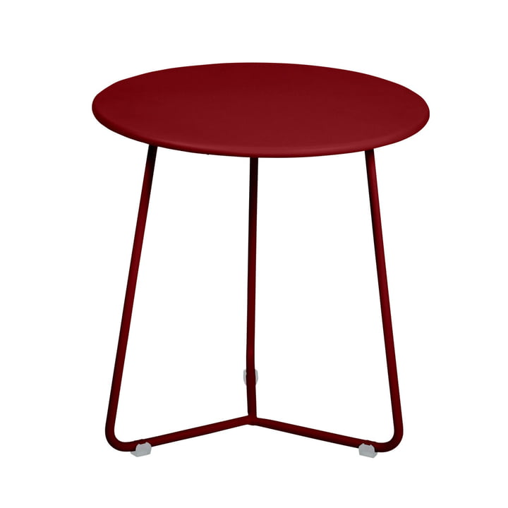 Cocotte Side table / stool Ø 34 cm x H 36 cm from Fermob in ochre