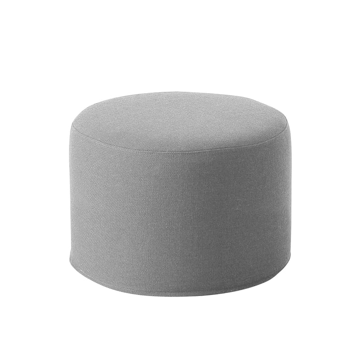 Drum Stool / Side Table small Ø 45 x H 30 cm from Softline in Vision light grey (445)
