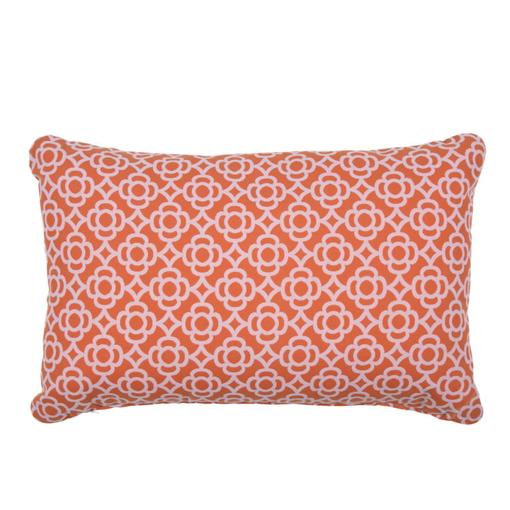 Lorette Outdoor cushion 68 x 44 cm by Fermob in carrot