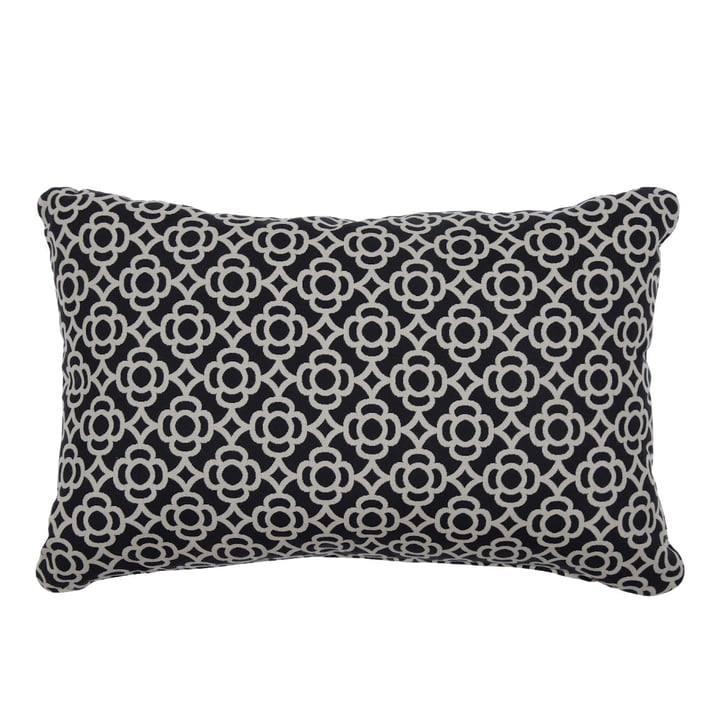 Lorette Outdoor cushion 68 x 44 cm by Fermob in liquorice