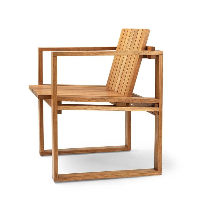 BK10 garden chair by Carl Hansen oiled in teak