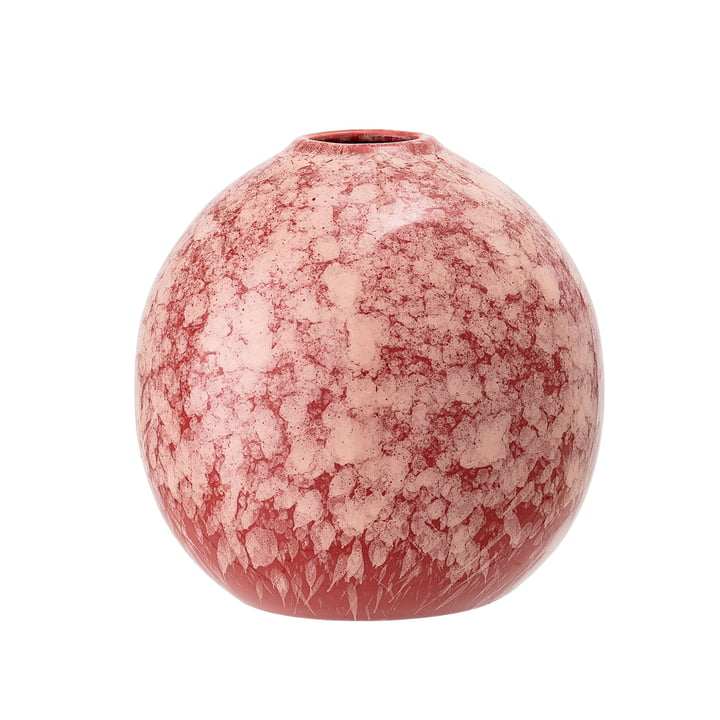 Stoneware Vase Ø 12 x H 12 cm from Bloomingville in pink