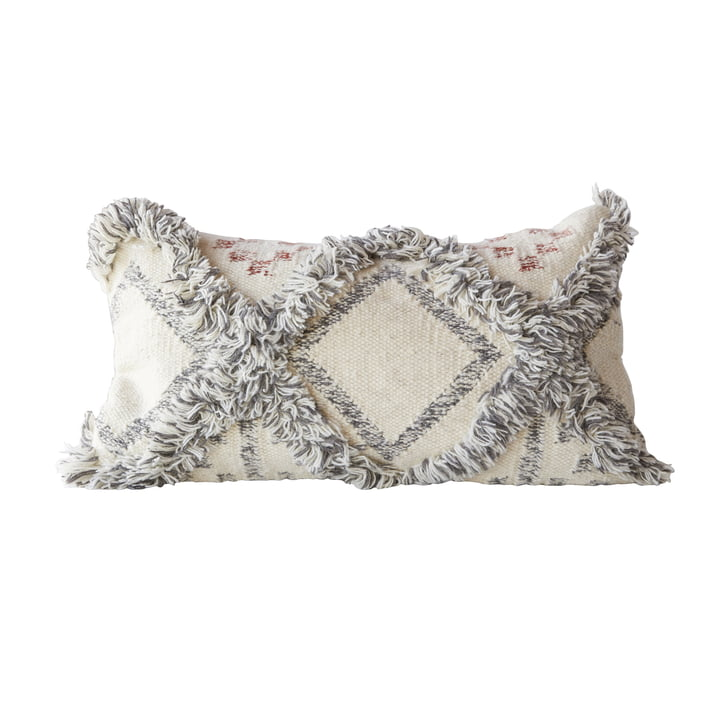 Terrain pillow from Bloomingville, L 60 x W 35 cm in multi-color