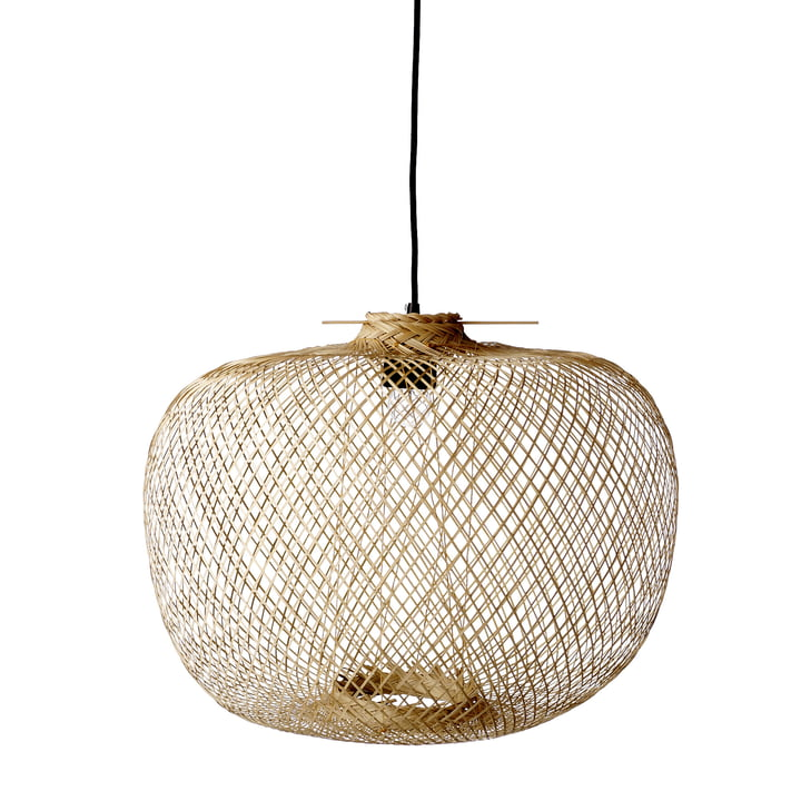 Bamboo pendant lamp from Bloomingville, Ø 42 x H 30 cm