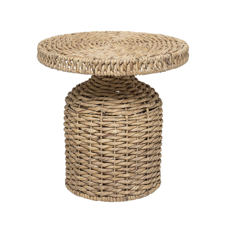 Camo side table woven by Bloomingville, Ø 47 x H 47 cm in nature
