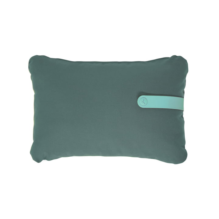 Color Mix outdoor cushion 44 x 30 cm by Fermob in safari green