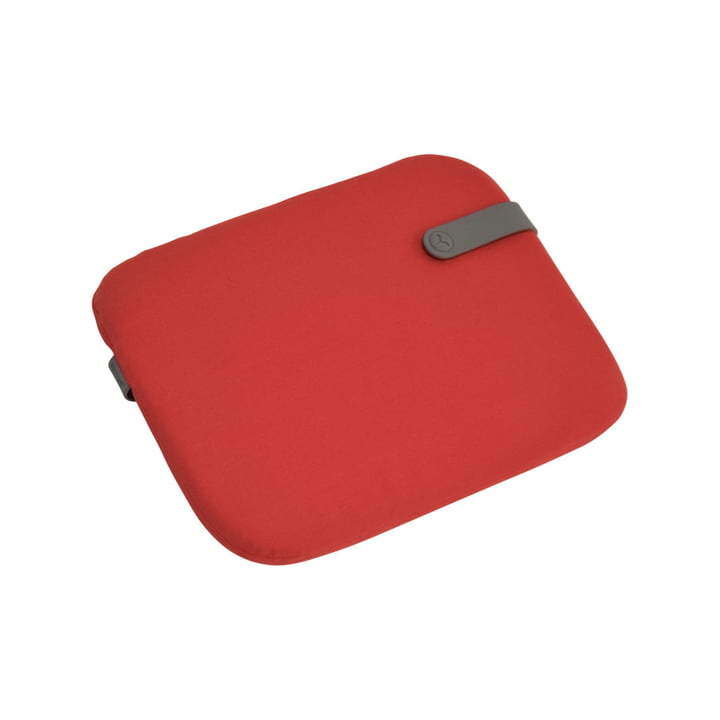 Fermob - Color Mix seat cushion for Bistro chair 38 x 30 cm, candy red