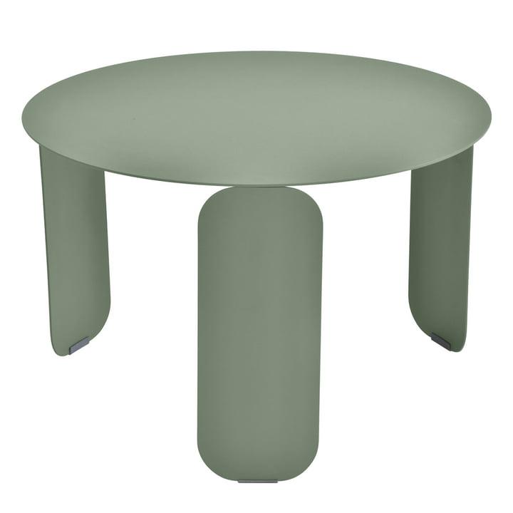 Bebop side table Ø 60 cm by Fermob in cactus