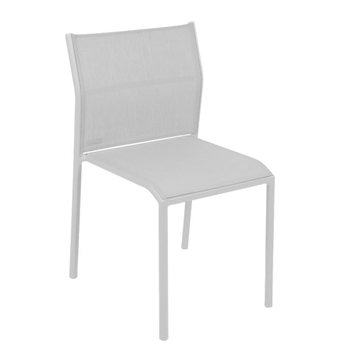 Cadiz chair by Fermob in cotton white